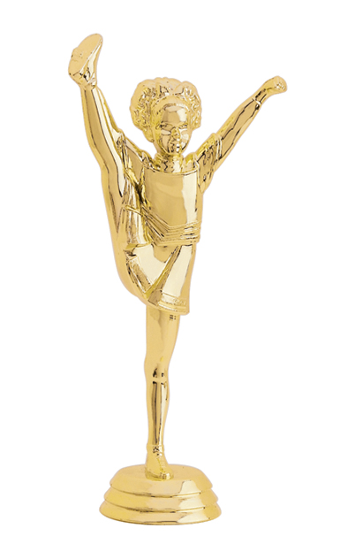 Gymnastics Acrobats Gym Dance Trophy Award Blue Base 170mm FREE Engraving
